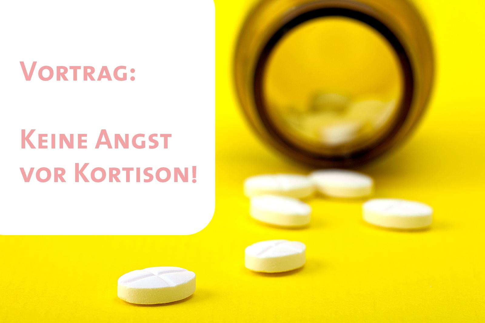 Vortrag: Keine Angst vor Kortison!