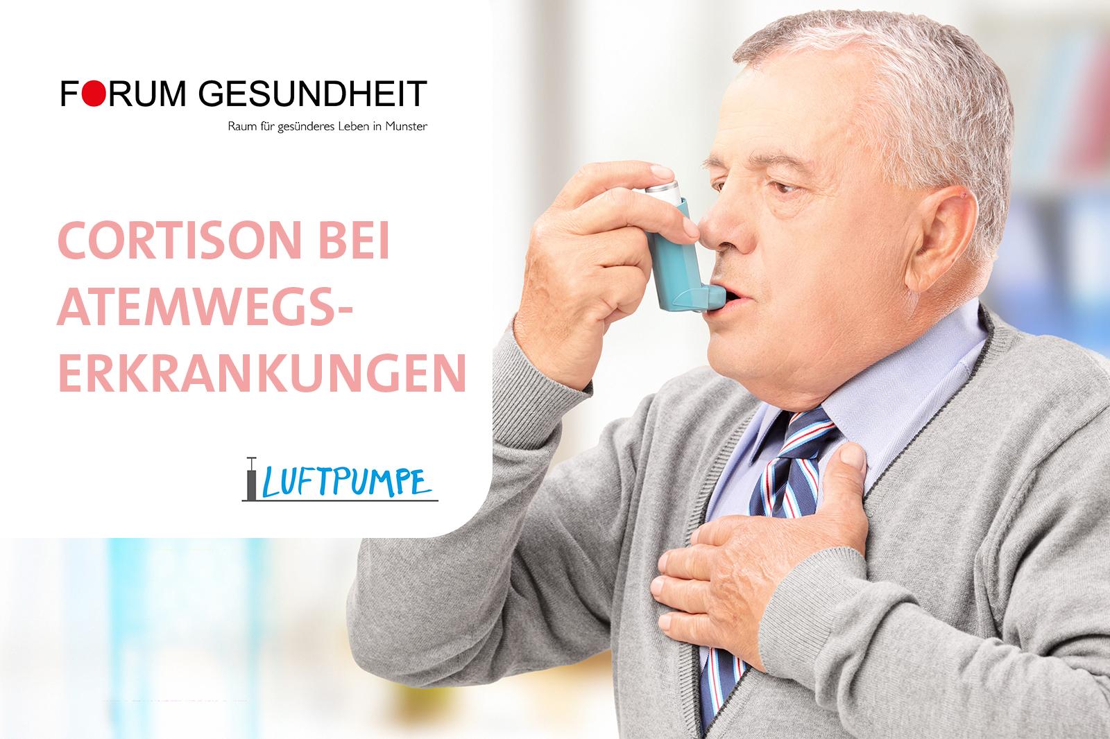 Cortison bei Erkrankungen der Atemwege - Sonnen-Apotheke Munster