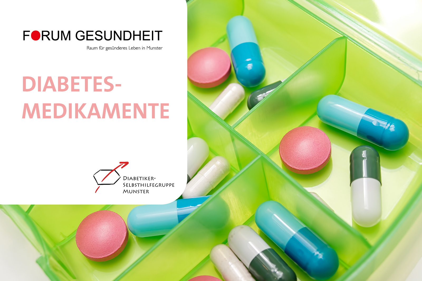 Medikamente bei Diabetes