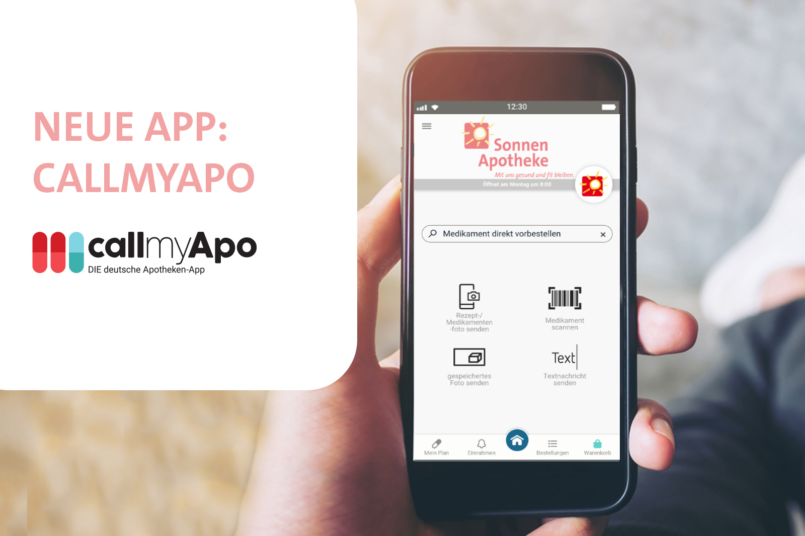 Neue App callmyApo