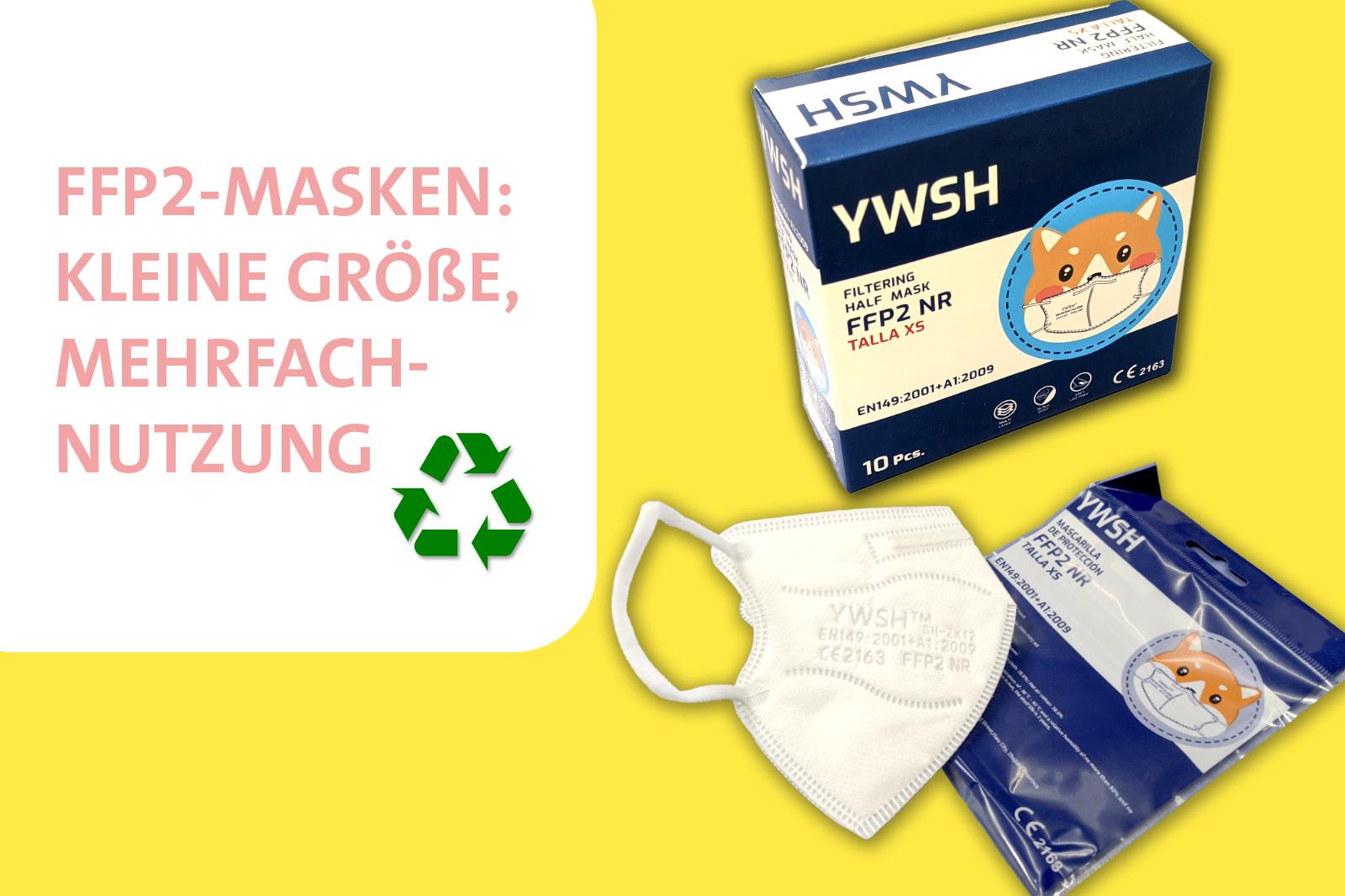 FFP2-Masken: Kinder, Mehrfachnutzung